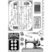 Crafty Individuals CI-328 Unmounted Rubber Stamp, Sewing Notions