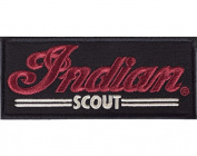 Indian Motorcycle Black Scout Patch