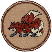 Nine Tailed Fox Patrol Patch - 5.1cm Round