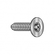 Tamper Screw, Flat, #14,1 1/4 L, PK10 91930