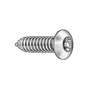 Tamper Screw, Button, #14,3/4 L, PK25 91450