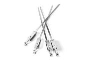 Quirky PSLD2-XMTL Sliders Single Prong Skewers, 4 piece