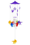 Bells of Paradise Wind Chime Fishes, Plastic, 4 Metal Tube Wind Chime - 68 Cm Long 11873