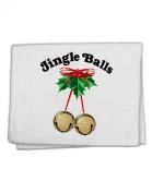 TooLoud Jingle Balls with Text 28cm x 46cm Dish Fingertip Towel