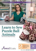 Learn to Sew Puzzle Balls Animals DVD