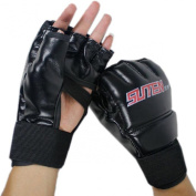 Lookatool® Cool MMA Muay Thai Training Punching Bag Half Mitts Sparring Boxing Gloves Gym