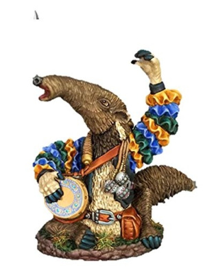 Dark Sword 28mm Miniature Visions in Fantasy Ian the Ant Eater Bard
