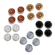 5 Sets of 4pcs Different Colours Speed Control Knobs for Gibson Les Paul Replacement Electric Guitar Parts