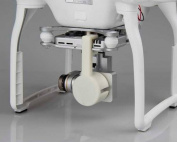 Lens Cap Protective Cover for Phantom 3 Professional / Advanced / Standard Quadcopter - White