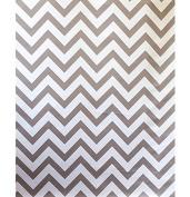 AK-Trading Grey Chevron Fabric Photography Backdrop - 1.5m x 1.8m