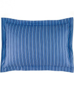 Lauren by Ralph Lauren Cambridge Off Sunset Blue Stripe Standard Sham