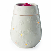 Candle Warmers Etc. Illumination Candle Warmer, Snowflake