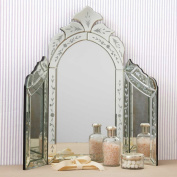 Two's Company Venetian Style Dressing Table Mirror