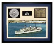 Navy Emporium USS Orion AS 18 Framed Navy Ship Display Blue