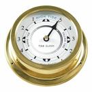 Ambient Weather TIDECLOCK-21 14cm Nautical Brass Quartz Tide Clock