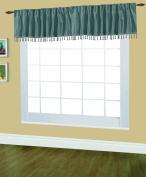 Editex Home Textiles Elaine Lined Pinch Pleated Valance, 120cm by 46cm , Lagoon
