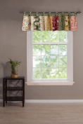Greenland Home Window Valance, Antique Chic