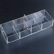 Acrylic Organiser Tray 4 Sections