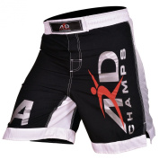 ARD New Extreme MMA Fight Shorts UFC Cage Fight Grappling Muay Thai Boxing Black