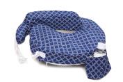 Zenoff Products My Brest Friend Original Nursing Pillow Slipcover, Navy/White