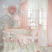 Lil' Princess 4 Piece Baby Crib Bedding Set with Bumper by Sweet Potato