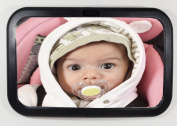 Baby Car Mirror EyesOnSmile® Original with Lifetime Guarantee