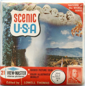 Classic ViewMaster -Scenic USA - Nations of the World Series - ViewMaster Reels 3D - Unsold store stock - never opened