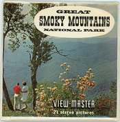 Classic ViewMaster -Great Smoky Mountains - National Park - 3Reel Packet - 21 3D Images