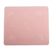 26cm x 29cm Silicone Rolling Mat for Fondant Clay Pastry Icing Dough