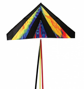 In the Breeze Delta Kite, 1.2m, Tie Dye