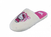 New Girls Hello Kitty Cartoon Character Microsuede Mule Slip On Slippers