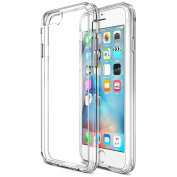 iPhone 6S Case , Trianium® [Clear Cushion] Premium iPhone 6 Case Bumper (12cm )[Scratch Resistant] Seamless integrated Shock-Absorbing Cover Cases Hard Back Panel Apple iPhone 6 6S