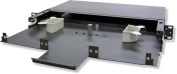 Lynn Electronics 1U Fibre Optic Rackmount Enclosure Panel, holds 3 LGX footprint panels or modules for a maximum capacity of 72 fibres. Fits 19 and 60cm racks.