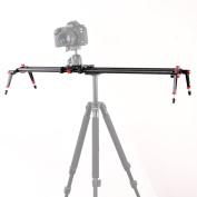 "Fotga 32""/80cm PRO Studio Dslr Camera Carbon Fibre Slider Dolly Track Video Stabiliser Rail System"