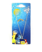 Official Licenced Disney Pixar INSIDE OUT JOY Charm MOOD NECKLACE & RING