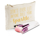 Sanfran - Don't Let Anyone Dull Your Sparkle Make-Up Bag