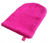 Makeup Mitt Exfoliating Makeup Removal Cleansing Mitt - removes makeup with water