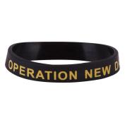 Veteran Silicone Wristband - Operation New Dawn W01S43E