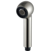 Nickel Brushed Finish Contemporary ABS Circle Handle Shower Head