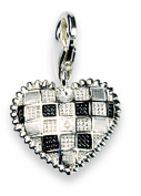 Alraune 103394 Chequered with Hearts Silver