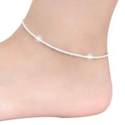 Tonsee® Hemp Rope Women Chain Ankle Bracelet Barefoot Sandal Beach Foot Jewellery