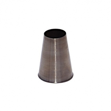 De buyer 2111.14-Single Piping Nozzle Stainless Steel No. 14