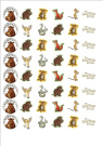48 x Gruffalo's Child fairy cake toppers printed on icing