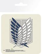 Attack On Titan Badge Coaster