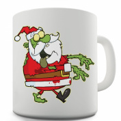 Twisted Envy Zombie Santa Ceramic Mug