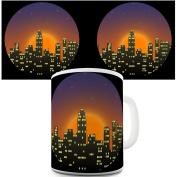 Twisted Envy New York City Lights Ceramic Mug