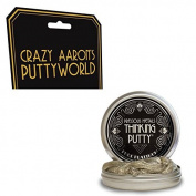 Crazy Aaron's Thinking Putty Metallic Pure Platinum 45ml Novelty
