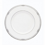 Lenox Pearl Platinum Bone China 23cm Accent Plate by Lenox