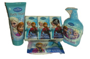 Disney Frozen Personal Care Bundle Wipes Body Wash Hand Soap Pocket Tissues