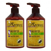 "Savannah Shea Butter Conditioner 16.9oz / 500ml ""Pack of 5.1cm"